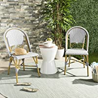 Safavieh Salcha French Bistro Stacking Side Chair Set of 2