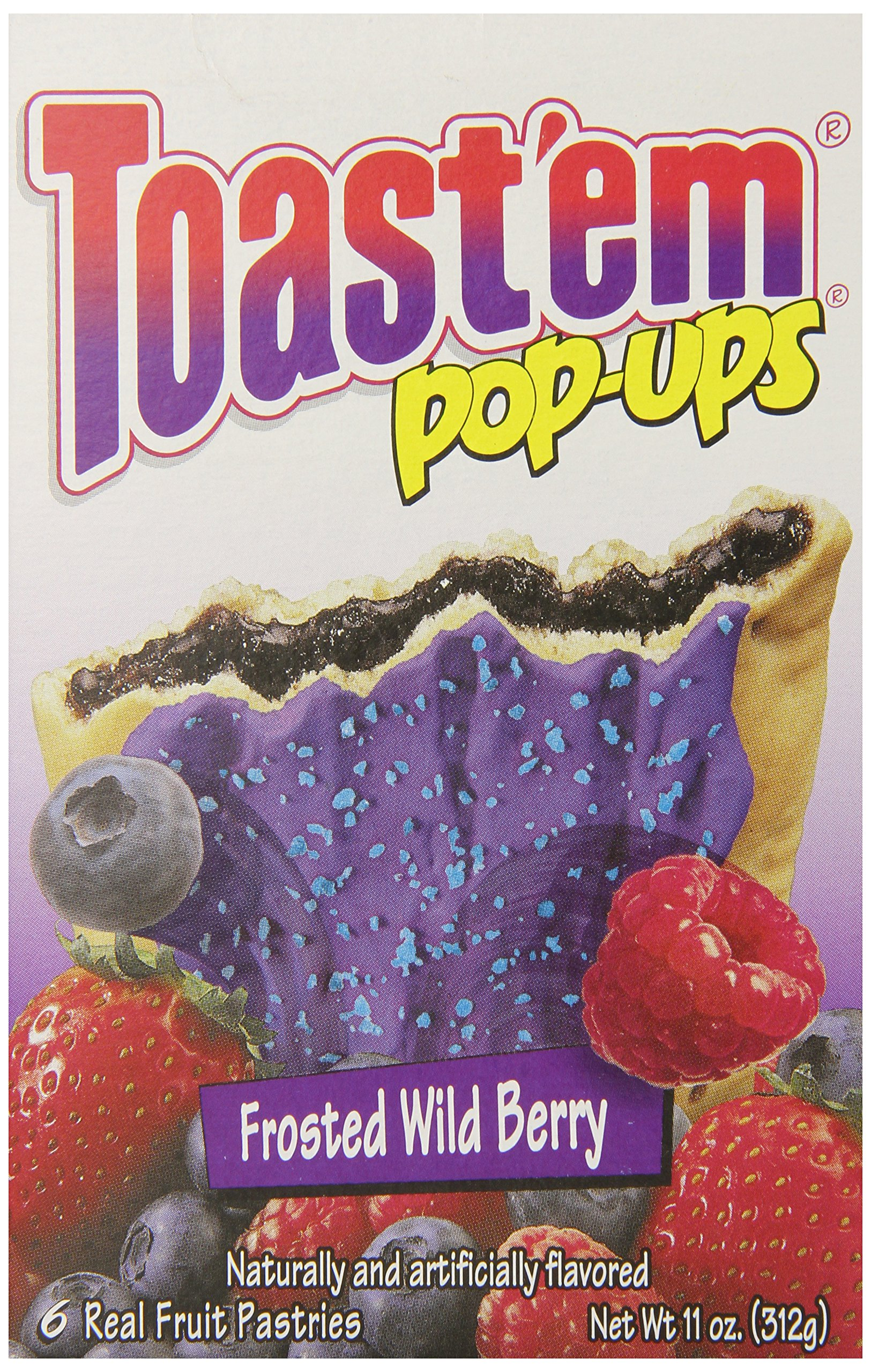 Toast'em Frosted Wild Berry Pastry Tart, 11 Ounce