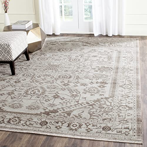 Safavieh Artisan Collection ATN318M Vintage Oriental Beige and Brown Distressed Area Rug 10 x 14