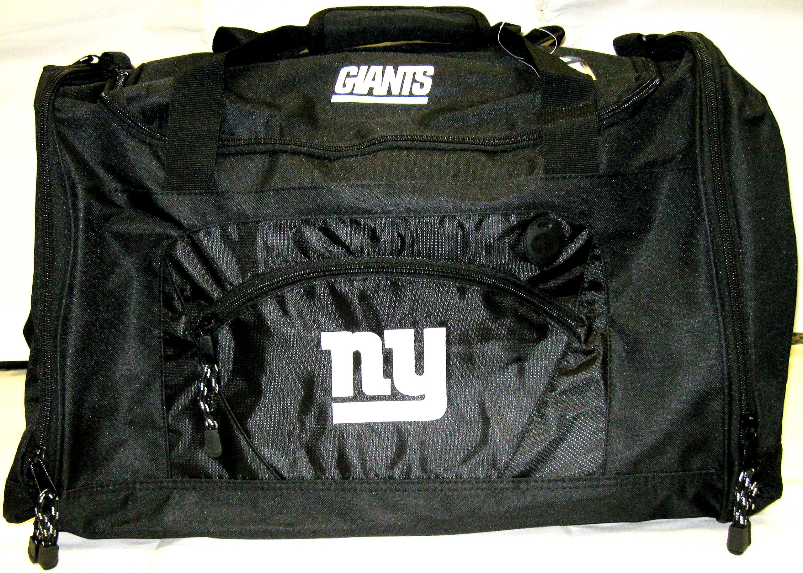 The Northwest Company Officially Licensed NFL New York Giants Roadblock Duffel Bag