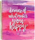 """Bloom Daily Planners All In One Planner, Calendar, Notebook, To-Do List Book, Sketch Book, Coloring Book and More! 9"""" x 11"""" Do More of What Makes You Happy"""