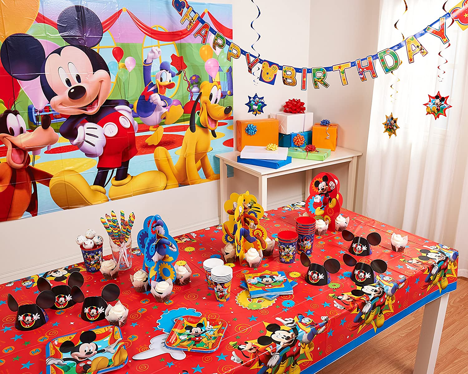 Amazon chima party supplies - Amazon Com Mickey Mouse Clubhouse Party Hat Mickey Ears 8 Count Party Supplies Toys Games