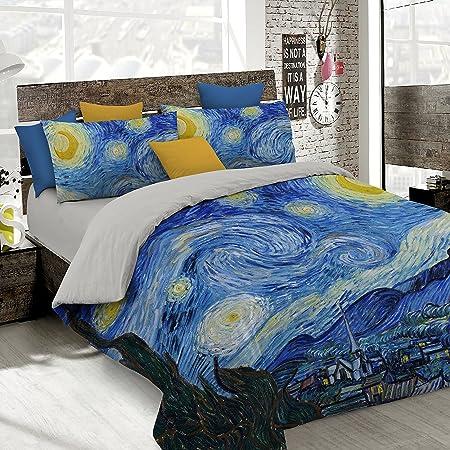 Copripiumino Con Foto.Italian Bed Linen Parure Copripiumino Con Stampa Digitale A