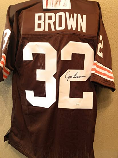 huge discount 5153e 0e817 shop authentic jim brown throwback jersey cleveland browns ...