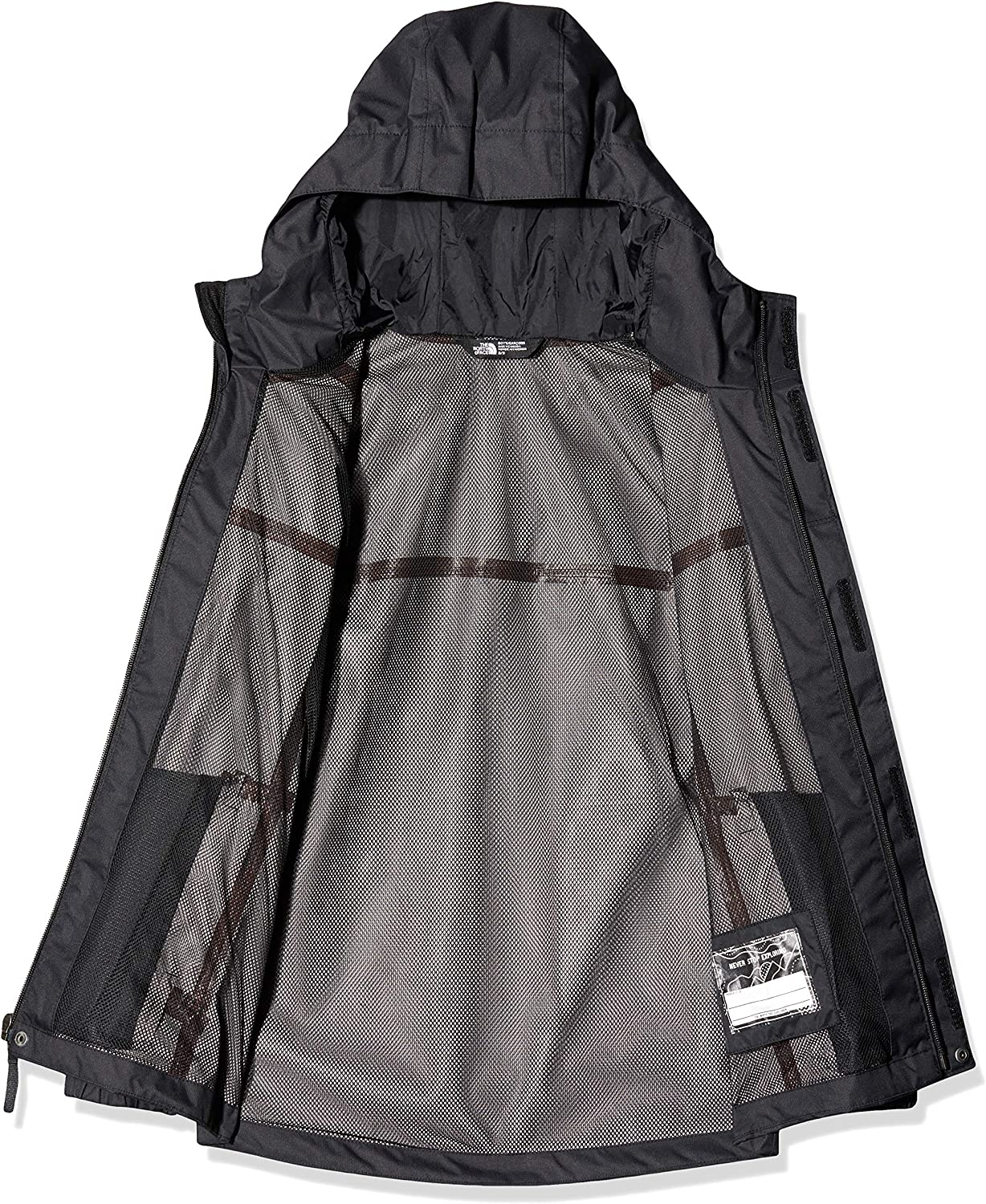 The North Face Waterproof Reflective Resolve  Boys Outdoor Jacket
