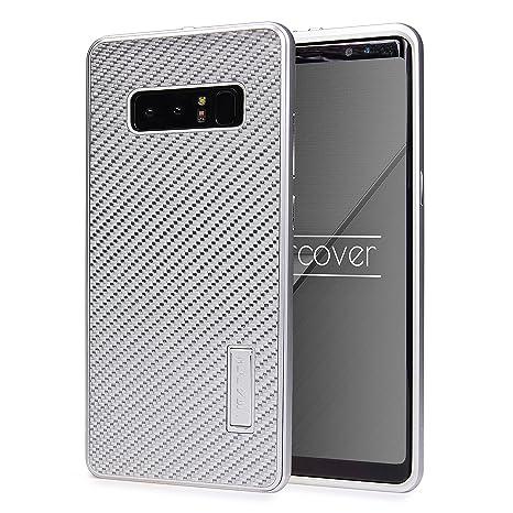 Urcover® Funda Galaxy Note 8, Bumper Cover Aluminio con ...