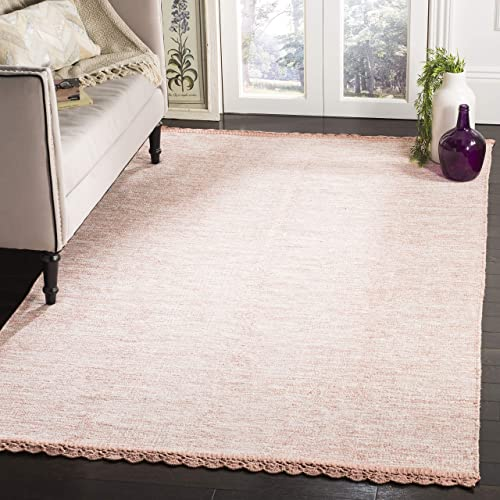 Safavieh Montauk Collection MTK615O Peach Area Rug 8 x 10