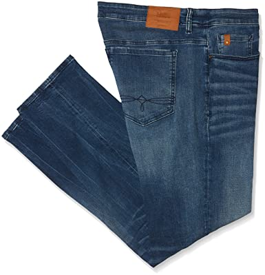 s.Oliver 15.802.71.5030, Jean Baggy Homme, Blau (Blue Denim Stretch 55Z4), 40W x 36L (Taille Fabricant: 40)