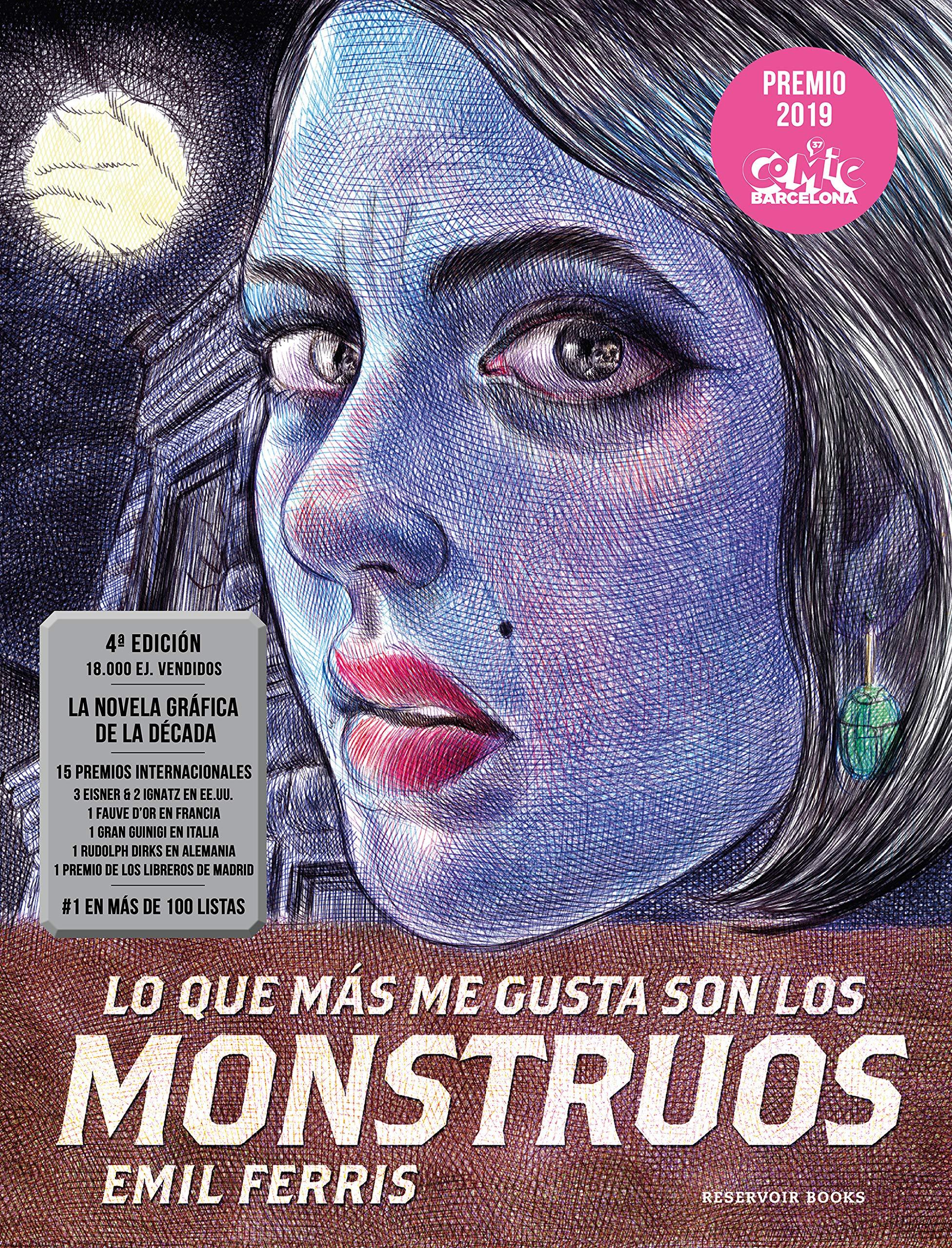 Lo que más me gusta son los monstruos Reservoir Gráfica: Amazon.es: Ferris,  Emil, Montserrat Meneses Vilar;: Libros