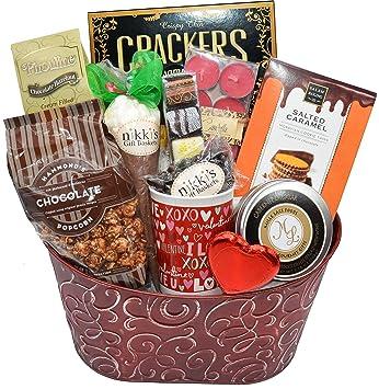 Amazon Com So Much Chocolate Valentine S Day Gift Basket
