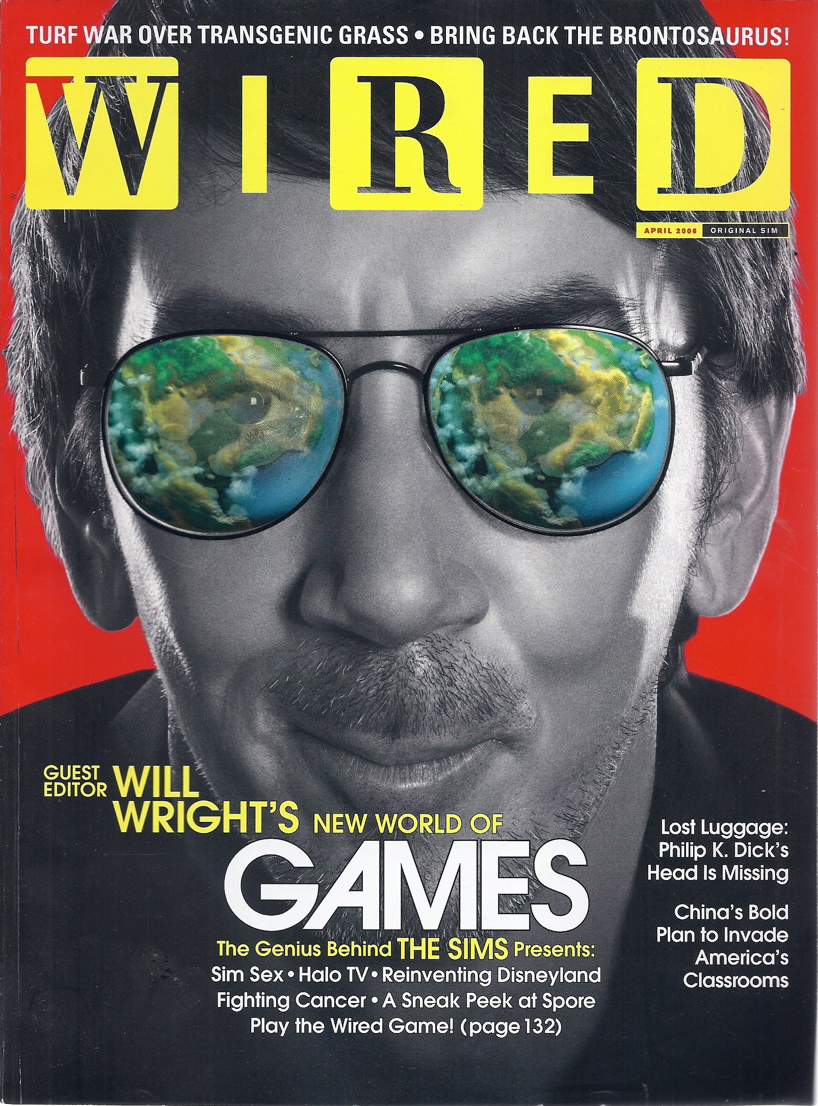 Wired Magazine (April 2006 - Will Wright): Chris Anderson: Amazon ...