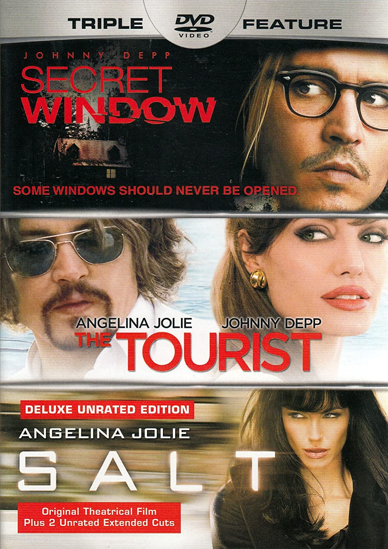 Secret Window / The Tourist / Salt (Triple Feature)