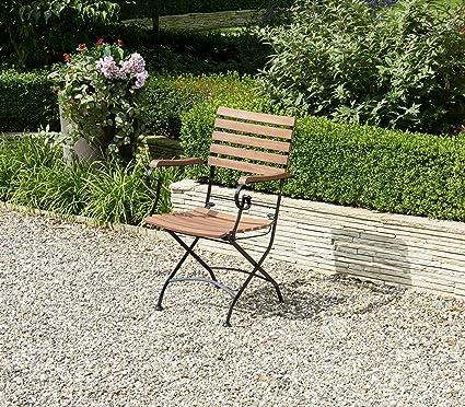 Silla plegable Silla plegable terraza jardín muebles ...