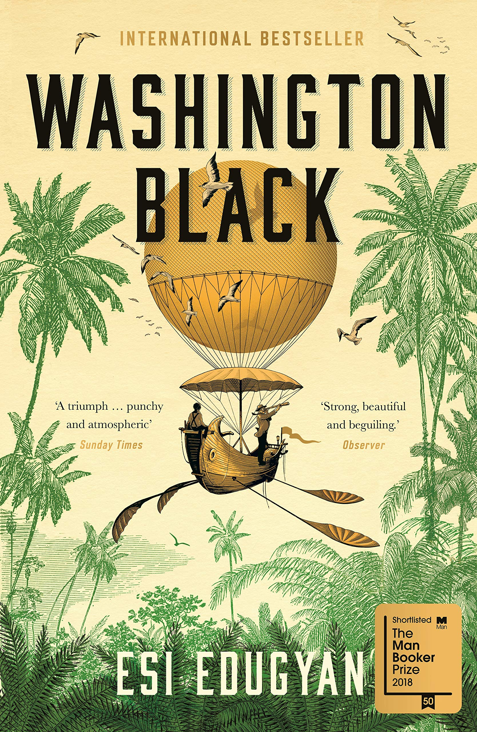 Washington Black por Esi Edugyan
