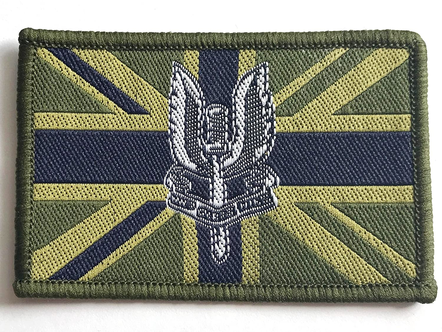 Vintage British Military Royal Navy UK Army Embroidered Iron Sew Badge Patch