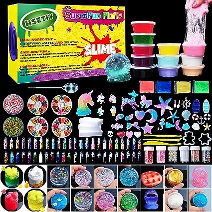 Hsetiy diy slime kit supplies 6 cloud slime6 clear slime3 jelly hsetiy diy slime kit supplies 6 cloud slime6 clear slime3 jelly solutioingenieria Images