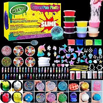 Hsetiy unicorn diy slime kit supplies 6 cloud slime6 clear slime3 hsetiy unicorn diy slime kit supplies 6 cloud slime6 clear slime3 ccuart Gallery