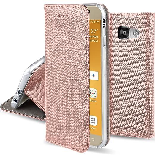 54 opinioni per Cover Samsung Galaxy A5 2017 Oro Rosa-