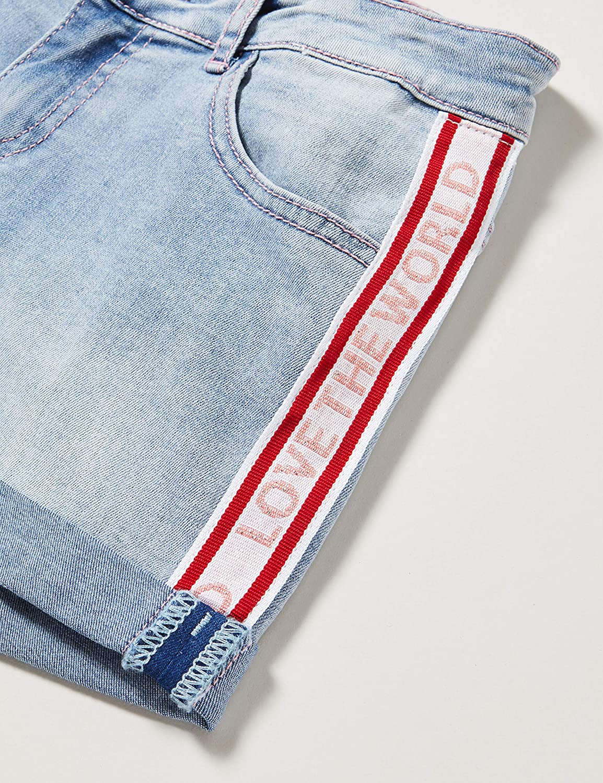 Desigual Denim/_Rodriguez Pantaloncini Bambina