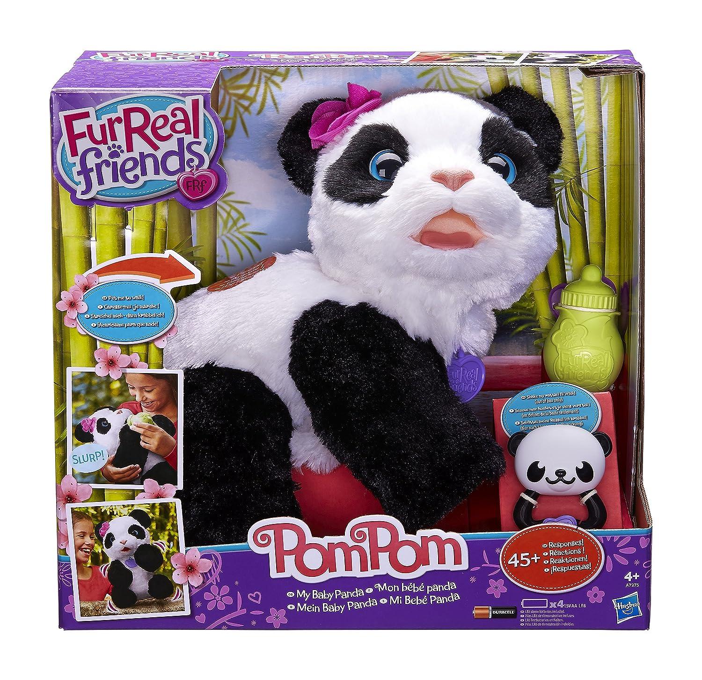 Amazon.es: Furreal Friends - Peluche Pom Pom, mi bebé panda (Hasbro A7275EU4)