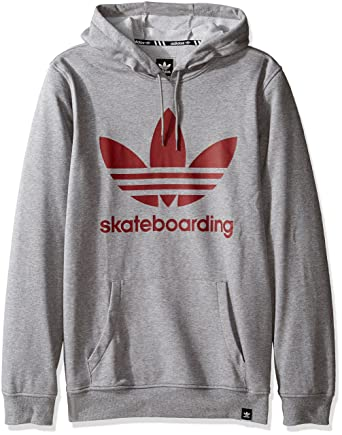 Adidas originali degli uomini con lo skateboard clima cappuccio su amazon uomini