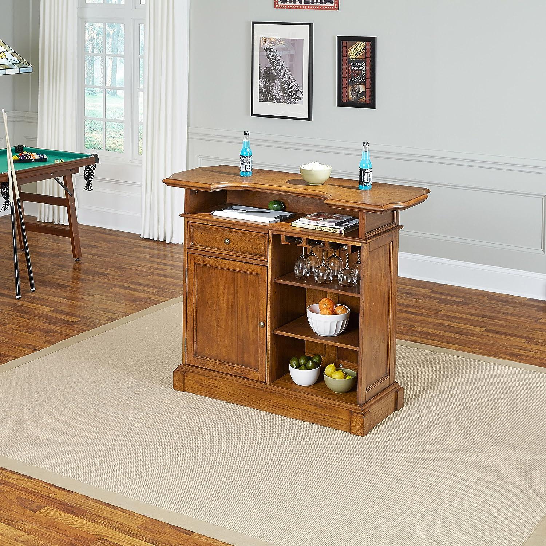 Amazoncom americana home decor - Amazon Com Home Styles Model 5004 99 Oak Finish Americana Bar Kitchen Dining