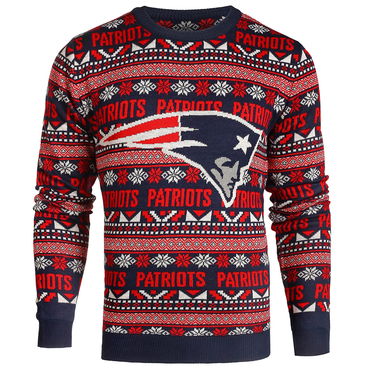 NEW ENGLAND PATRIOTS 2016 UGLY SWEATER