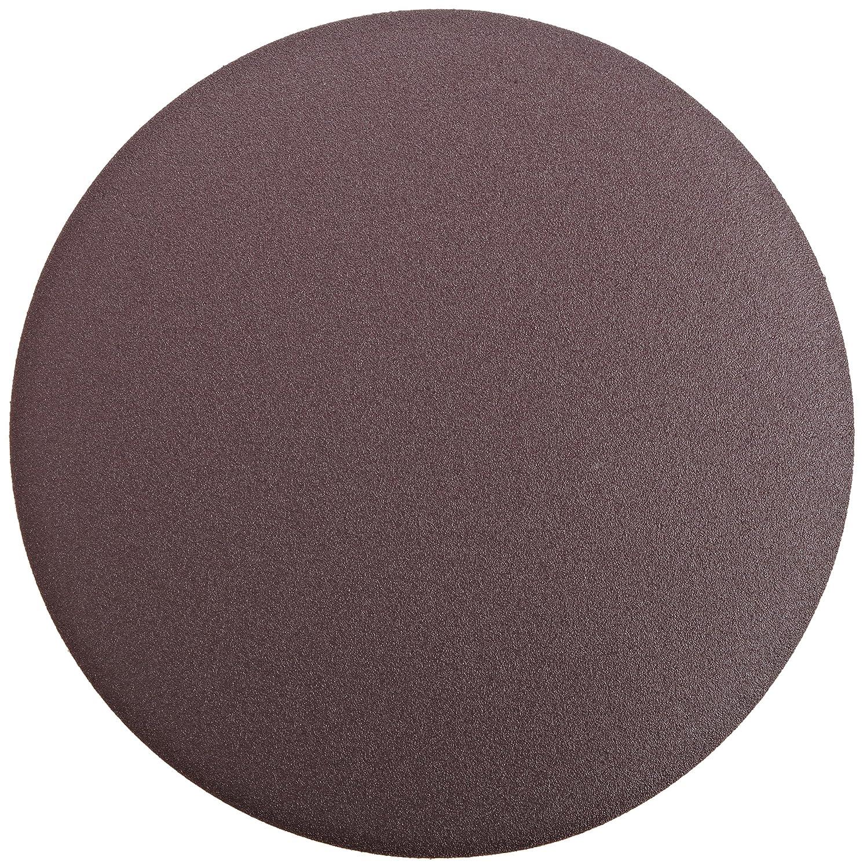 PSA Attachment 12 Diameter P100 Grit Brown Aluminum Oxide Pack of 10 3M  PSA Cloth Disc 348D X Weight Cloth