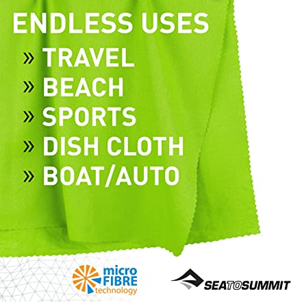 Sea to Summit Airlite Towel X-l Mountaineering Climbing /& Trekking Unisex Adult