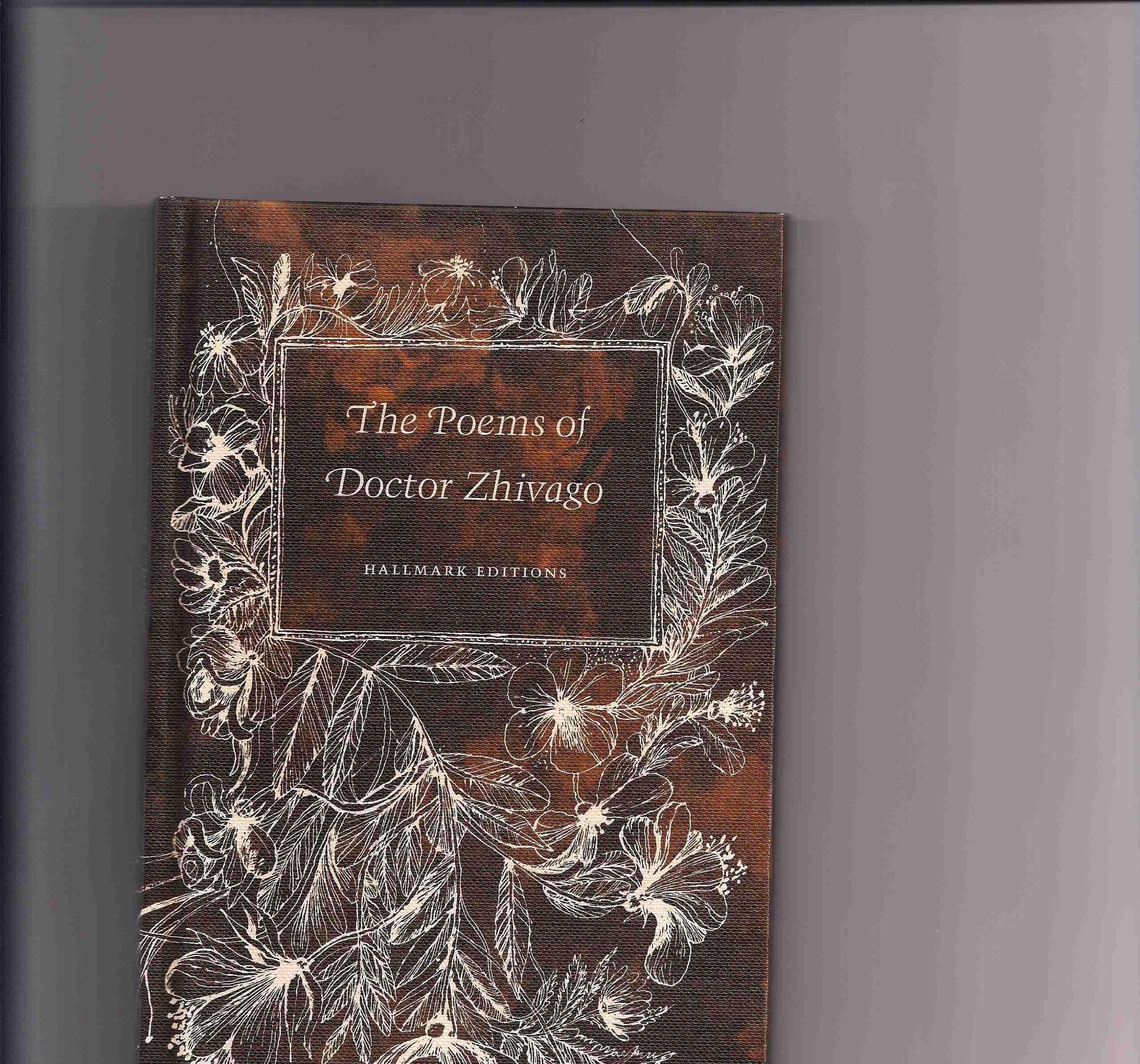 The Poems Of Doctor Zhivago Boris Pasternak Amazoncom Books