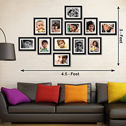 53ee94403b6 Buy Ajanta Royal Classic set of 12 Individual Photo Frames (12-6x8 Inch) -  WPC-13 Online at Low Prices in India - Amazon.in