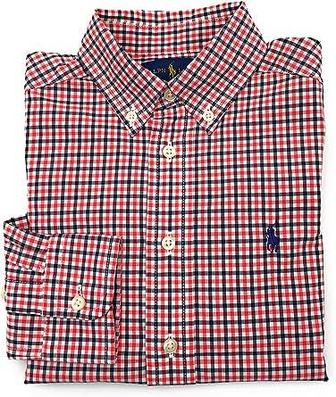 Ralph Lauren - Camisa - con Botones - Cuadrados - con Botones ...
