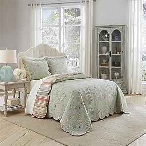 Waverly Garden Glitz Bedspread Collection, King/Cal King