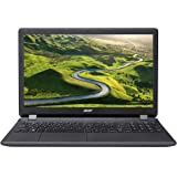Acer Aspire ES 15 (ES1-571-P3CR) 39,6 cm (15,6 Zoll Full HD) Office Notebook (Intel Pentium 3556U, 8GB, 128GB SSD, Intel HD Graphics, DVD, Bluetooth, HDMI, SD Kartenleser, Win 10 Home) schwarz