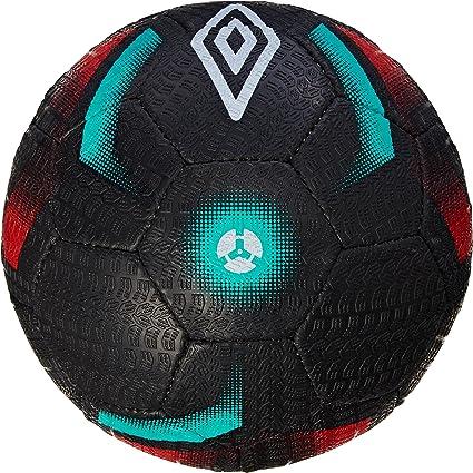 Umbro Neo Street Enduro – Balón de fútbol Negro/Blanco/cálido Rojo ...