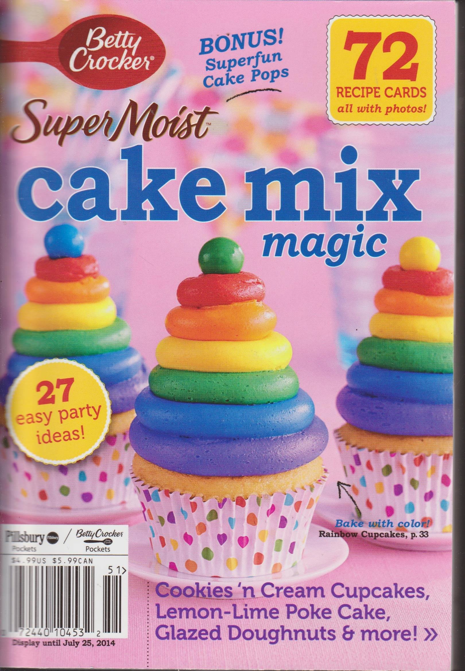 Super Moist Cake Mix Magic Magazine ebook