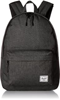 a746fc811895 Herschel Classic Backpack Black Crosshatch One Size