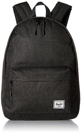 Herschel Classic Backpack Black Crosshatch One Size