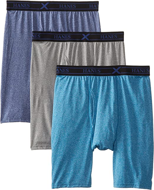Hanes Ultimate Boys X-Temp Performance Boxer Briefs 3-Pack