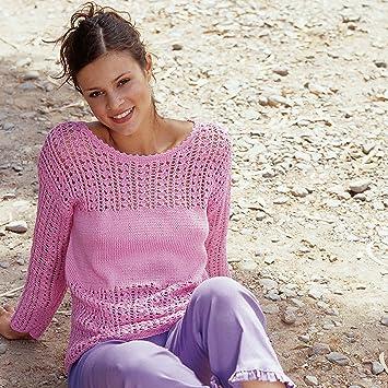 Sommerleicht Luftigen Damen Pullover Selber Stricken Mit Dem