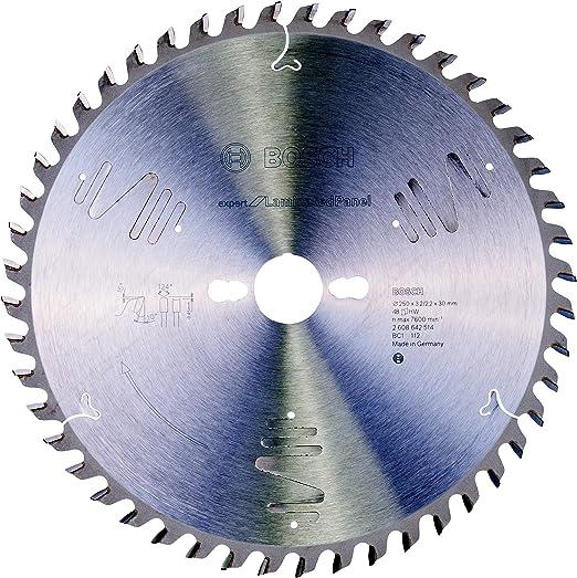 Bosch Lame de scie circulaire 2608642514 Expert Laminated Panel Scie 250 x 30 Z 48