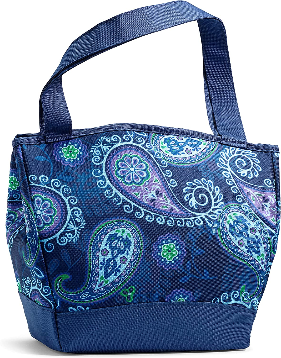 "Fit and Fresh Hyannis, 11.5"" x 6"" x 10.5"", Blue Paisley"