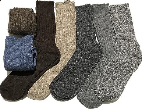6 Pairs Easy Grip Mens Non Elastic Smart Suit Coloured Design Socks Adults 6-11