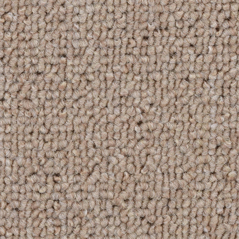 Variante verschiedene L/ängen BODENMEISTER BM72051 Teppichboden Auslegware Meterware Schlinge grau anthrazit 400 cm und 500 cm breit 4x4m