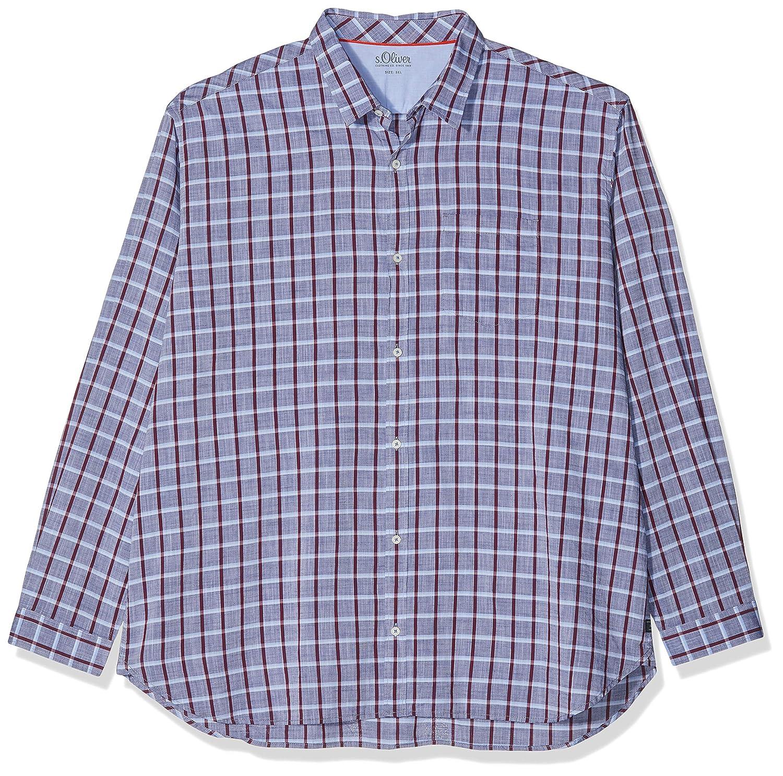 TALLA 4XL. Ser Big Size Camisa para Hombre