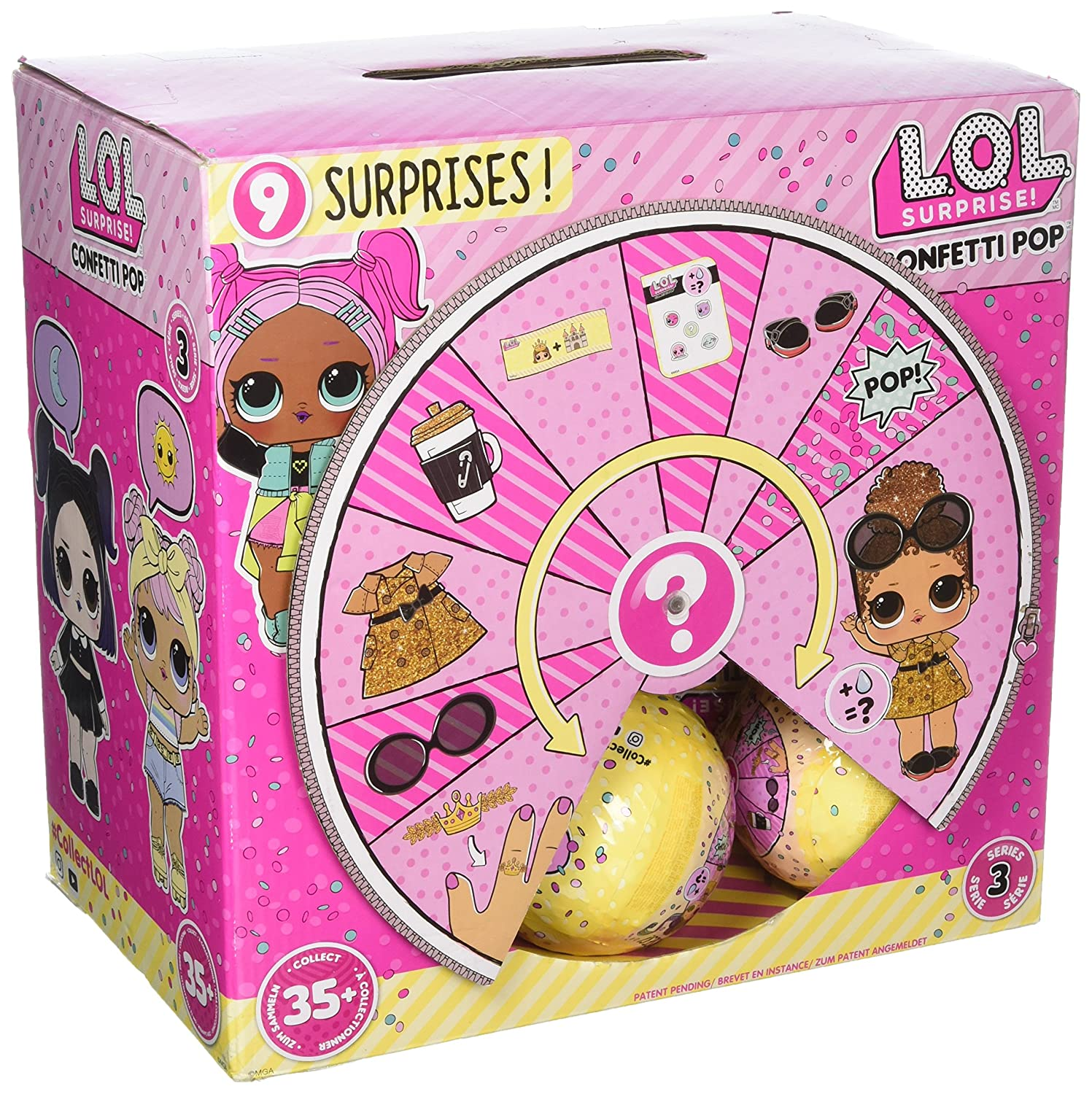 LOL Surprise Authentic SERIES 3 Confetti Pop Wave 2 Big Sisters 1 Doll Ball NEW