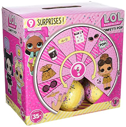 L O L Series  Confetti Pop Full Case Of  Lol Little Outrageous Little Doll