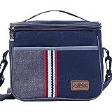 HiChange Lunch Bag, Bolsa porta alimentos Bolsa de Almuerzo con Correa de Hombro (Style 2)