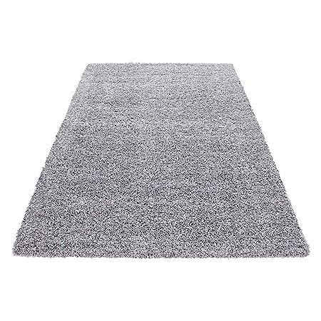 Hochflor Shaggy Teppich Wohnzimmer 3 Cm Florhohe Einfarbig Teppiche