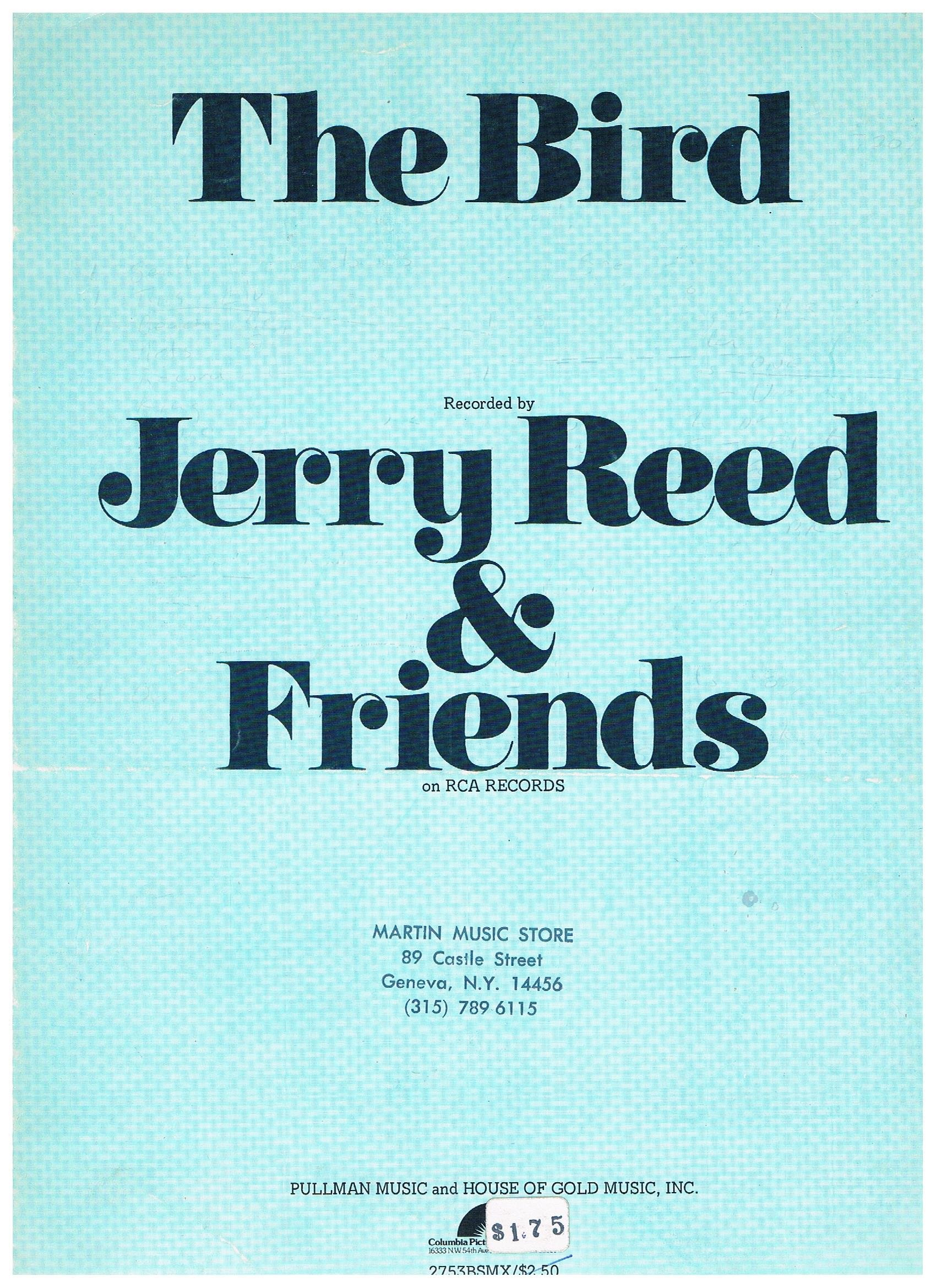 Amazon The Bird Recorded By Jerry Reed Friends Sheet Music